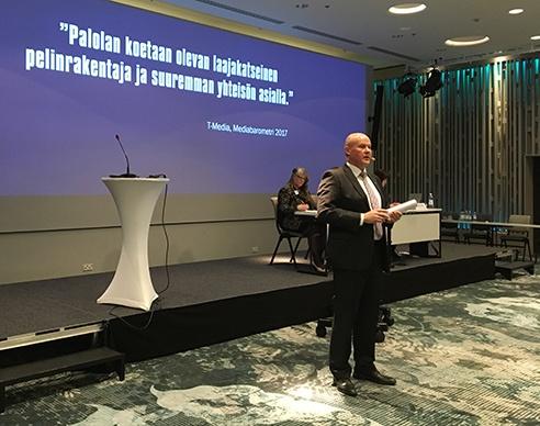 STTK:n puheenjohtaja Antti Palola: Työ luo hyvinvointia