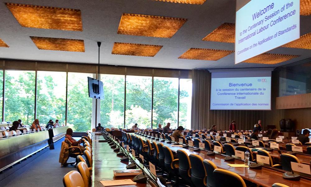 Kansainvälinen työjärjestö hyväksyi yleissopimuksen väkivallan ja häirinnän torjumiseksi